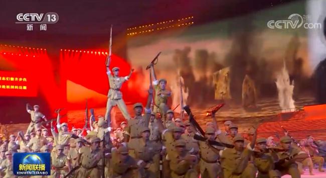 庆祝中国共产党成立100周年文艺演出《伟大征程》气势恢宏述说建党百年伟大历程