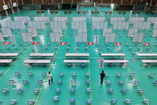 台湾新增12例本土新冠病例