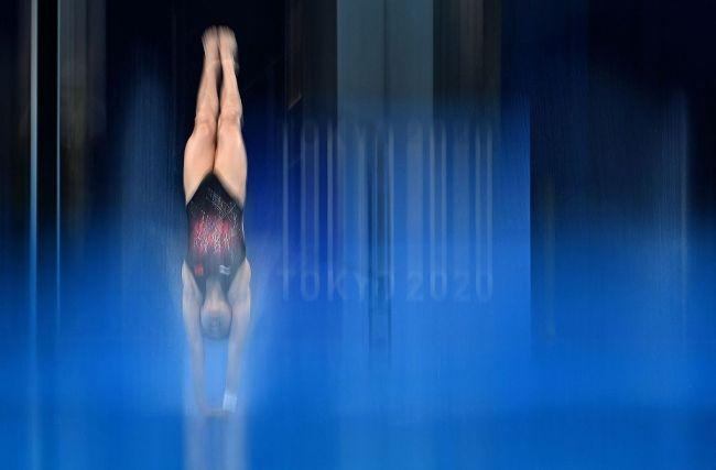 挺进决赛!全红婵、陈芋汐跳水女子10米台晋级