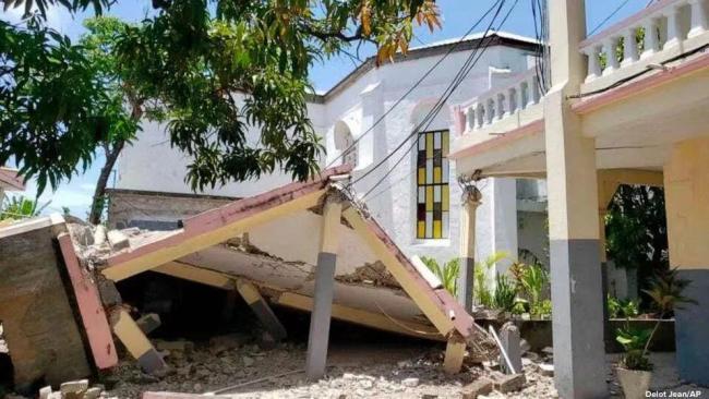 海地7.3级地震已致304人死亡 震源深度10公里
