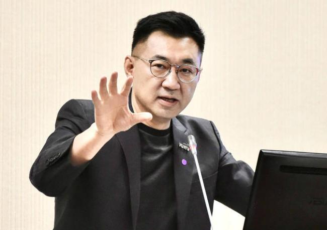 江启臣登记参选连任国民党党主席