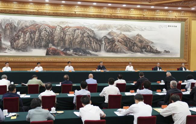 习近平在中央民族工作会议上强调 以铸牢中华民族共同体意识为主线 推动新时代党的民族工作高质量发展
