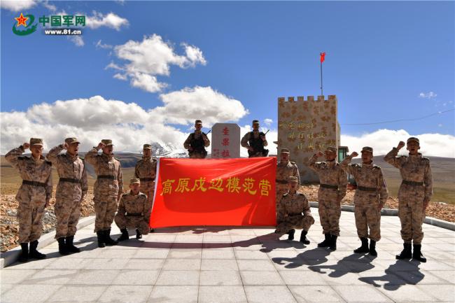 """习主席的回信在""""高原戍边模范营""""引起强烈反响"""