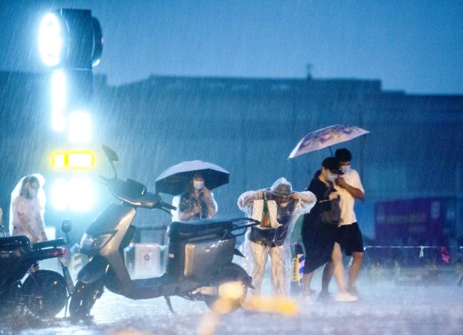 北京今夏雨量20年最多!