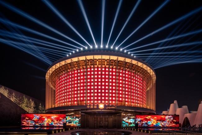 抢先目睹!迪拜世博会中国馆试运营