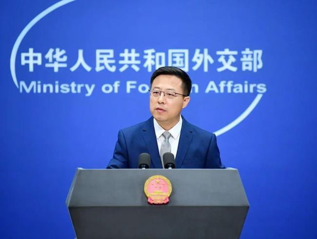 外交部:中国的台湾轮不到美国说三道四