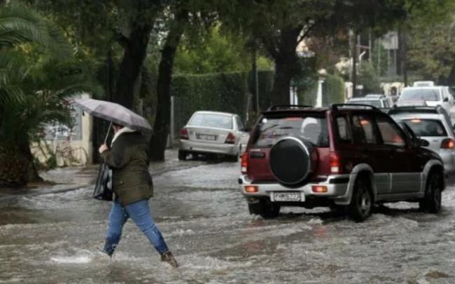 """超强风暴""""巴洛斯""""侵袭希腊 雅典大范围停电"""