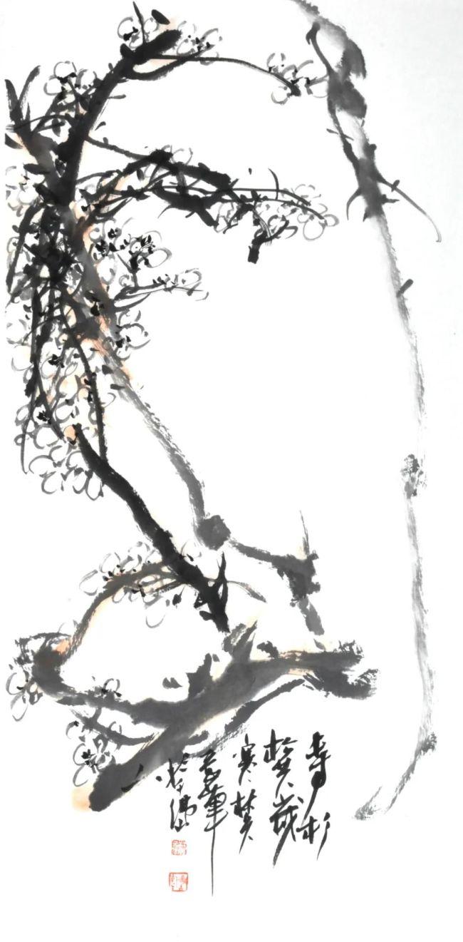 """著名画家林兵参展""""芥英社年度新作精品展"""",2021年1月3日前与您在山东云龙美术馆不见不散"""