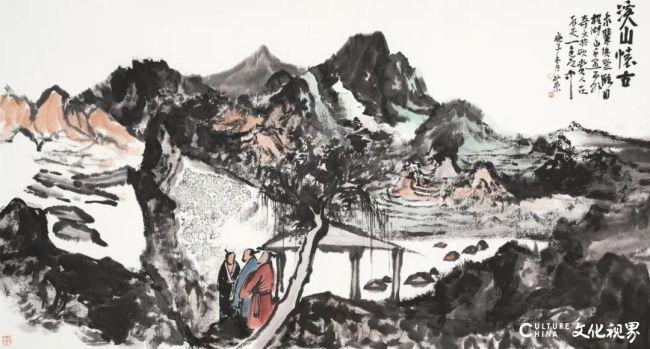 """""""古今风度·2020—2021中国画名家主题创作展""""今日在烟台开幕,青年画家刘仲原应邀参展"""