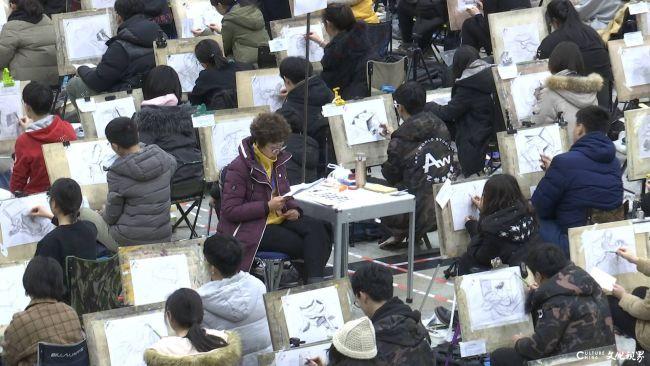 山东艺术学院本科招生线上考试规模为去年4倍,平均报录比高达197:1