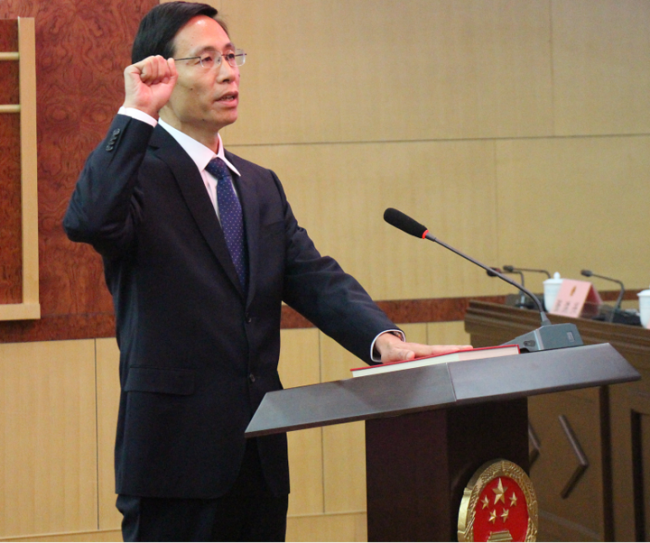 张伦任菏泽市人民政府副市长、代理市长