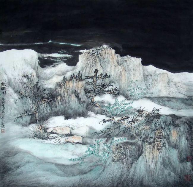 青年画家刘明谈画④:当代水墨山水画时代精神的体现
