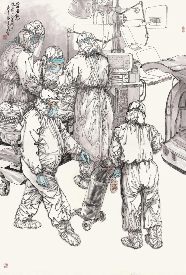 立象 尽意 工无限——著名画家徐惠泉浅谈中国工笔人物画当代发展的突破路径