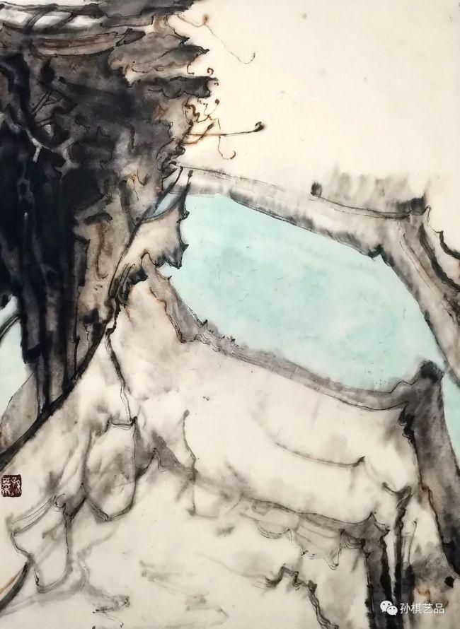 黑瓦白墙素江南——青年画家孙棋用笔墨呈现徽派建筑的住宅美学