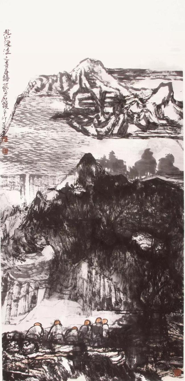 浑厚自然、清奇朴拙——由五大板块解读著名画家张志民的艺术档案