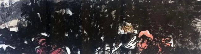 笔墨幽深 苍茫厚重——著名画家张志民反叛和谐的表现性山水