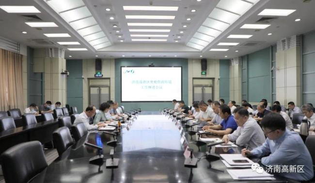 """济南高新区强调将营商环境作为""""第一名片"""",开创""""三区叠加""""高质量发展新局面"""