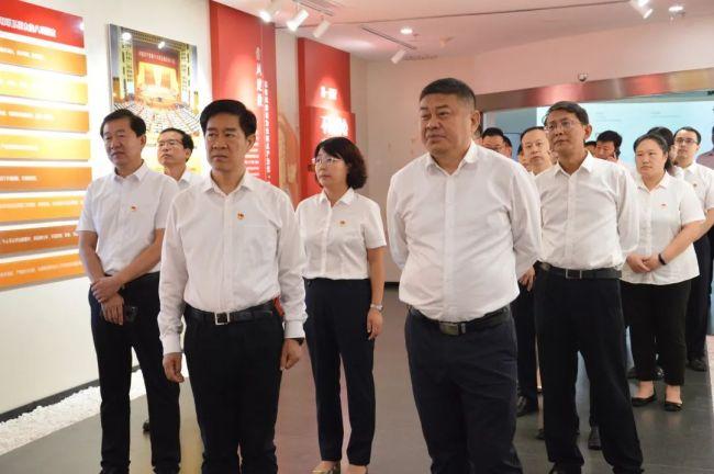 孙庆雷到淄博市高新区调研纪检监察工作