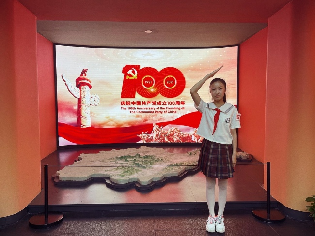 小小中国心,深深爱国情——泉城少年林憬逸倾情演唱歌曲《我为祖国唱首歌》