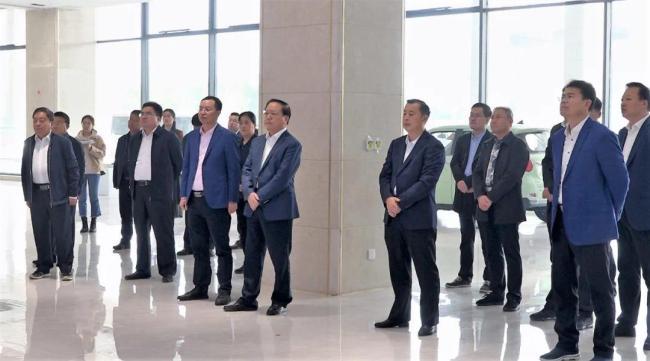 王广部带队督导枣庄高新区重点项目建设推进情况