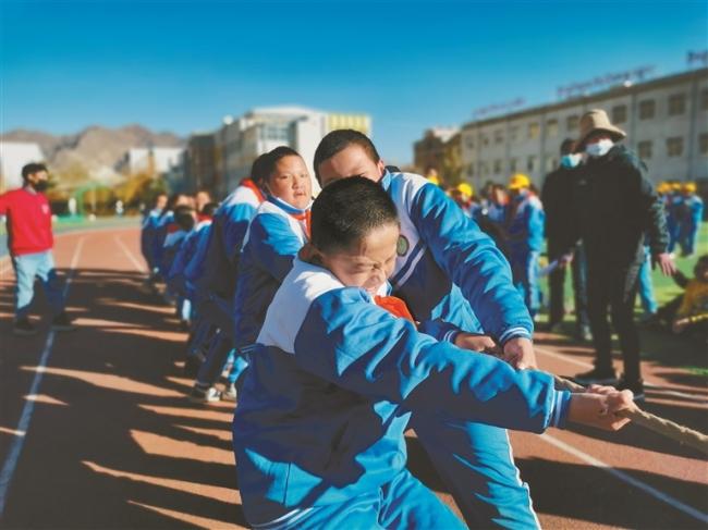 西藏体育项目进校园