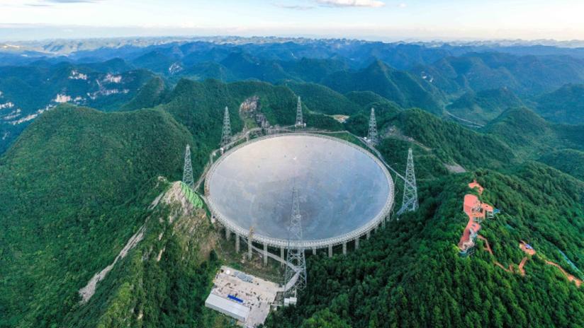 中国天眼凝望苍穹