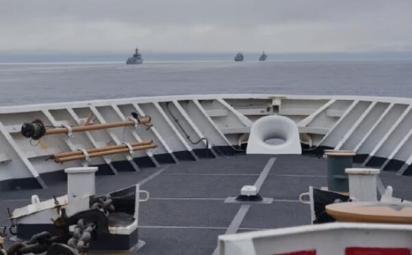 美国专属经济区!中国舰队出现在美国阿拉斯加